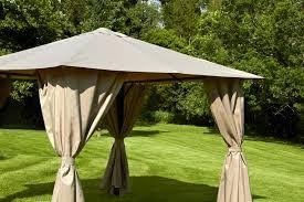 gazebo heavy duty venice heavy duty 3m square gazebo beige from alton garden