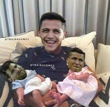 Alexis Meme - see this funny meme involving alexis sanchez messi and ronaldo