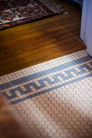 wood to tile transition home r u0026d pinterest vintage bathrooms