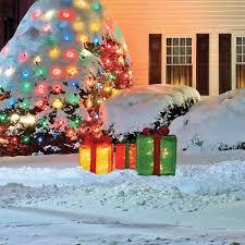 christmas decorations christmas lighted figures christmas