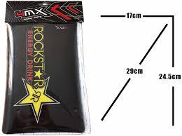 fork decals rockstar stickers graphics fits aprilia 125 sx 08 11