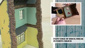 Diorama House How To Construct And Paint Buildings U0026 Dioramas Tutorial Youtube