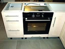 meuble cuisine pour plaque de cuisson meuble pour four encastrable et table de cuisson meuble de plaque