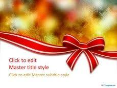 40 best christmas powerpoint template images on pinterest ppt