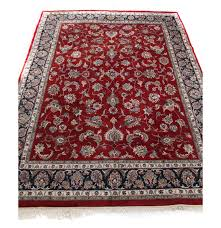 What Size Rug Pad For 8x10 Rug 8 U0027 X 10 U0027 Hand Knotted Indo Persian Tabriz Room Size Rug Ebth