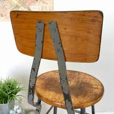 vintage industrial bar stool rustic industrial furniture