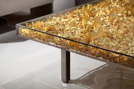 Gold Table L Monogold Table By Yves Klein At 1stdibs