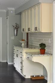 Kitchen With Painted Cabinets Annie Sloan Chalk Paint U0026 Waxed Kitchen Cabinets 6 Month Review