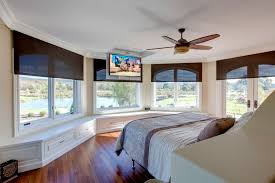Bedroom Wall Of Windows Home Automation Innerspace Electronics
