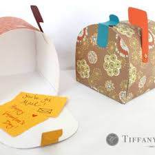 mailbox craft special delivery paper mailbox tutorial craft tip junkie