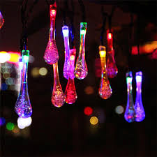 popular icicle drop lights solar buy cheap icicle drop lights