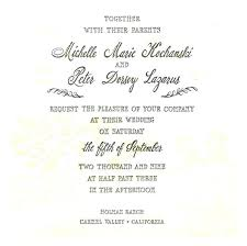 wedding announcement wording best of wedding invitations in wording sles and sle