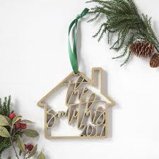 new home personalized ornament foxblossom co