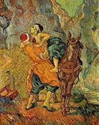 the good samaritan after delacroix 1890 vincent van gogh