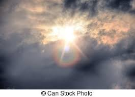 beautiful sky with sun and clouds stock photography search