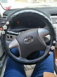toyota corolla steering wheel cover black leather steering wheel cover with wheel cover