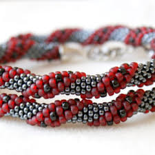 black beaded rope necklace images Shop spiral rope necklace on wanelo jpg