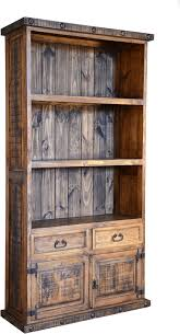 Bookcase Pine Rustic Bookcase Pine Wood Bookcase Bookcase With Cabinets