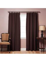 pinch pleat style thermal insulated blackout curtains 42