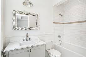 Gray Vanity Top White And Gray Chevron Vanity Mirror Design Ideas