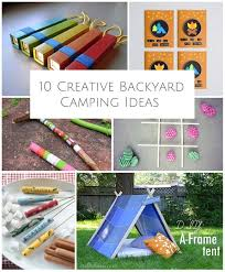 Backyard Campout Ideas 746 Best Summer Messy Play U0026 Outdoors Activities Images On
