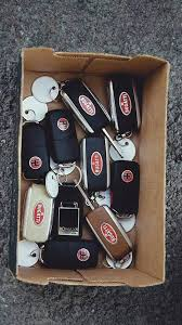 bugatti car key valet parks ten bugatti veyrons in one night