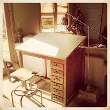 vintage wood drafting table antique drafting table with drawers table designs