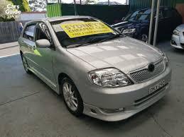toyota corolla sportivo for sale 2003 toyota corolla sportivo for sale manual hatchback carsguide