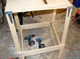 Folding Table Saw Stand Making A Utility Table Saw Page 1