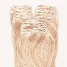 Tap In Hair Extensions by Triple Weft Hair Extensions Full Head Hair Extensions Milk