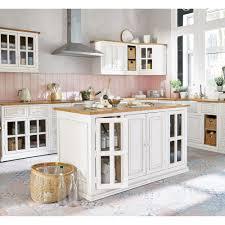 cuisine lave vaisselle meuble de cuisine en manguier ivoire pour lave vaisselle l 70 cm