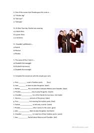 tow all the thanksgivings friends the one with all the resolutions worksheet free esl