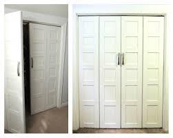 Cheap Closet Door Ideas Attractive Bifold Closet Door Knobs Closet Ideas