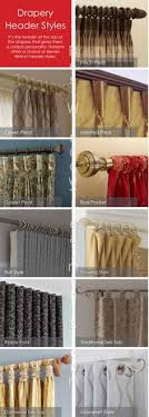 Types Of Curtains Decorating All Sorts Of Different Types Of Draperies And Ways To Hang Them
