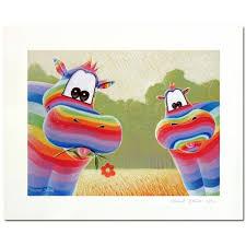 tableau deco chambre enfant tableau hippopotame heureux este tableau pour bébé déco bébé