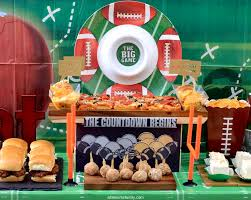 football party decorations easy day party and food ideas altamonte family
