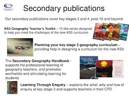 geographical association u0027s resources to encourage excellence in teach u2026