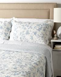 French Toile Bedding Blue Toile Quilt By Williamsburg