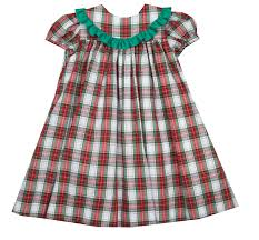 boys christmas plaid float dress baby toddler