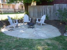 How To Make A Rock Patio by Flagstone Patio And Walkway Video Diy