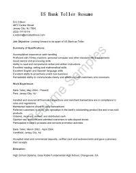 resume for bank teller bank resume template 69 images 5 best