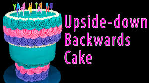 upside down backwards cake from cookies cupcakes and cardio youtube