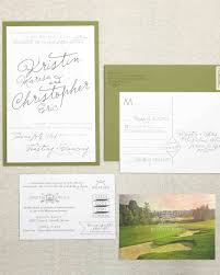 wedding stationery that isn u0027t girly martha stewart weddings