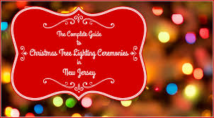 the complete guide to tree lighting events in new jersey