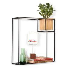 Triangle Wall Shelf Umbra Strum Shelf Copper Wire Triangle Wall Display