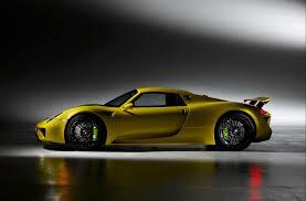 918 Porsche 2013 - picture porsche 2013 918 spyder yellow side automobile 3096x2030