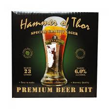 hammer of thor special gravity lager home brew beer kit love brewing