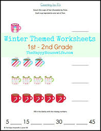 winter themed worksheets free printables the happy housewife