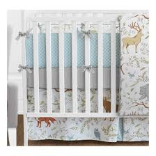 Design Crib Bedding Sweet Jojo Designs Woodland Toile Collection 9 Crib Bedding