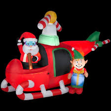 Outdoor Christmas Decorations At Home Depot Amazon Com Christmas Decoration Lawn Yard Inflatable Airblown